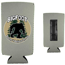 Load image into Gallery viewer, Bigfoot Doesn't Believe In You Magnetic Slim Can Coolie