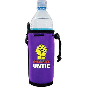 Dyslexics Untie Water Bottle Coolie