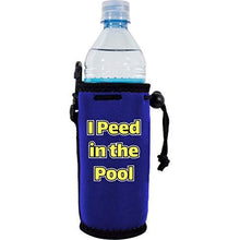 Load image into Gallery viewer, I Peed in the Pool Water Bottle Coolie