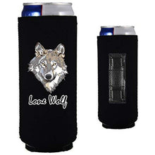 Load image into Gallery viewer, Lone Wolf Slim Magnetic Can Coolie