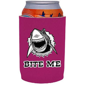Bite Me Shark Full Bottom Can Coolie