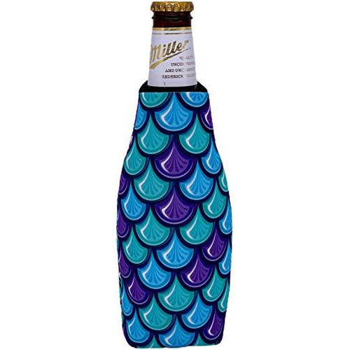Fish Scale Pattern Beer Bottle Coolie