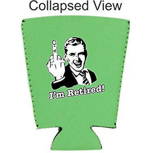 I'm Retired Pint Glass Coolie