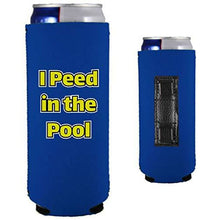 Load image into Gallery viewer, I Peed in the Pool Magnetic Slim Can Coolie