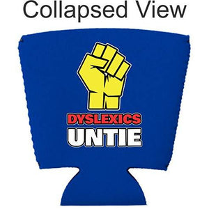 Dyslexics Untie Party Cup Coolie