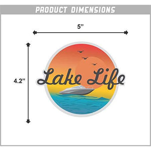 Lake Life Vinyl Sticker