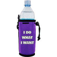 Load image into Gallery viewer, I Do What I Want Water Bottle Coolie