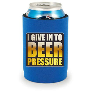Beer Pressure Full Bottom Can Coolie
