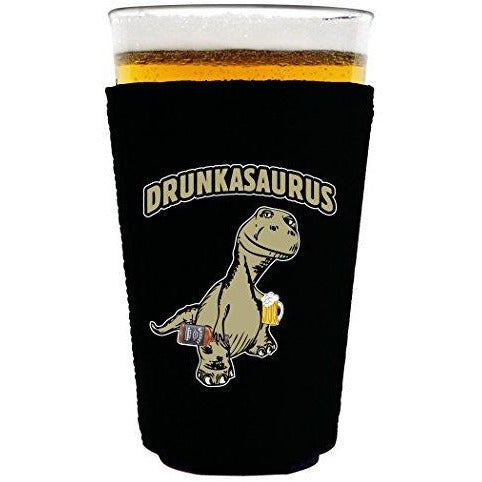 Drunkasaurus Pint Glass Coolie