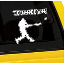 Load image into Gallery viewer, Touchdown Baseball Vinyl Sticker
