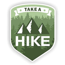 Load image into Gallery viewer, vinyl sticker with take a hike design