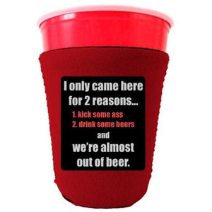 Two Reasons Party Cup Coolie