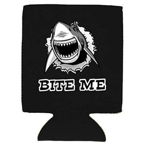 Bite Me Shark Can Coolie