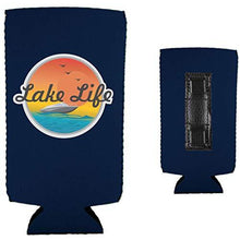 Load image into Gallery viewer, Lake Life Magnetic Slim Can Coolie