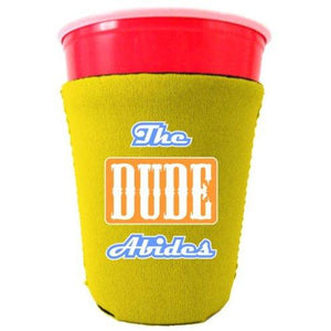 The Dude Abides Funny Party Cup Coolie