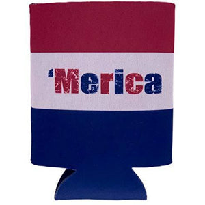 Merica Colors Can Size Coolie