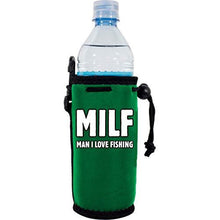 Load image into Gallery viewer, MILF Man I Love Fishing Water Bottle Coolie