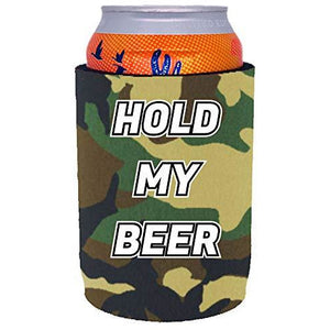 Hold My Beer Full Bottom Can Coolie