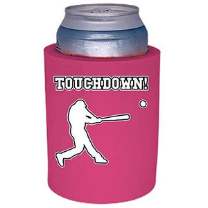 "Touchdown Baseball Thick Foam""Old School"" Can Coolie"