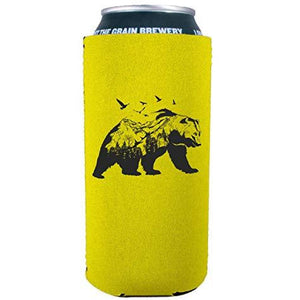 Mountain Bear 16 oz. Can Coolie