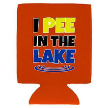 Load image into Gallery viewer, I Pee In The Lake Can Coolie
