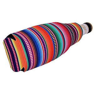 Serape Pattern Beer Bottle Coolie