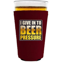 Load image into Gallery viewer, Beer Pressure Pint Glass Coolie