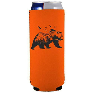 Mountain Bear Slim Can Coolie