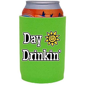 Day Drinkin Full Bottom Can Coolie