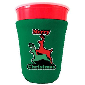 Reindeer Christmas Party Cup Coolie