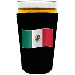 World Countries Flag Neoprene Collapsible Pint Glass Coolie