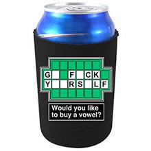Load image into Gallery viewer, can koozie with go f yourself design
