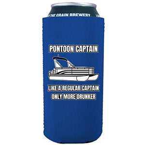 Pontoon Captain 16 oz. Can Coolie