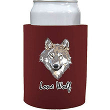 "Load image into Gallery viewer, Lone Wolf Thick Foam""Old School"" Can Coolie"