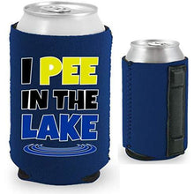 Load image into Gallery viewer, I Pee In The Lake Magnetic Can Coolie