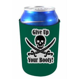 Give Up Your Booty Pirate Can Coolie