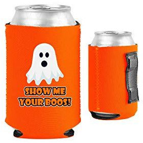 Show Me Your Boos! Halloween Magnetic Can Coolie