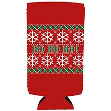 Load image into Gallery viewer, Ho Ho Ho Christmas Slim Can Cozy