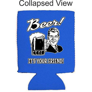 Beer! It's Your Friend! Can Coolie