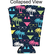 Load image into Gallery viewer, Bikini Pattern Pint Glass Coolie