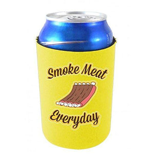 Smoke Meat Everyday Can Coolie