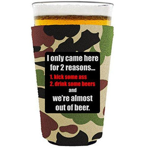 Two Reasons Pint Glass Coolie