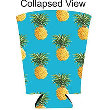 Load image into Gallery viewer, Pineapple Pattern Pint Glass Coolie