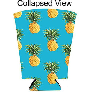 Pineapple Pattern Pint Glass Coolie