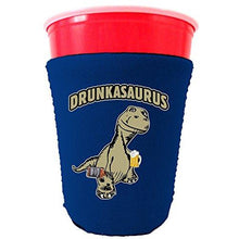 Load image into Gallery viewer, Drunkasaurus Party Cup Coolie