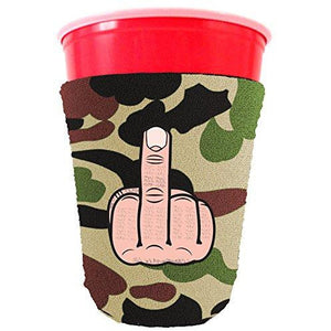 Middle Finger Party Cup Coolie