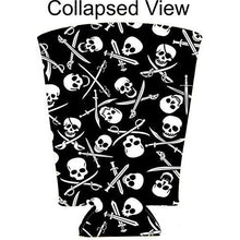 Load image into Gallery viewer, Pirate Pattern Pint Glass Coolie
