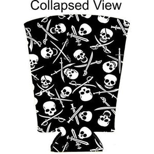 Pirate Pattern Pint Glass Coolie
