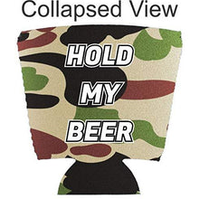 Load image into Gallery viewer, Hold My Beer Pint Glass Coolie