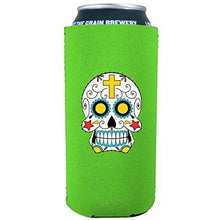 Load image into Gallery viewer, Sugar Skull 16 oz Can Coolie